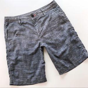 O'Neill Mens Hybrid Board Shorts Surf Gray Size 34